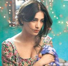 Actress Shruti Hassan in Gelupu Gurram Movie