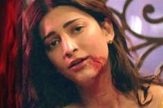 South Indian Actress Shruti Hassan in Gelupu Gurram Movie