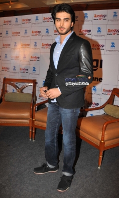 Imran Abbas at Zee group launched new Television channel Zindagi