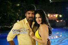 Jai and Sunny Leone pics from Kulfi Movie