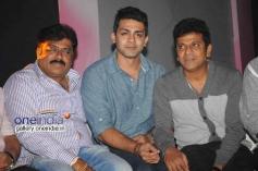 K Manju, Raghu Mukherjee, Shivarajkumar at Aryan Movie Audio Release