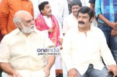 K Raghavendra Rao at Balakrishna's new Movie Launch
