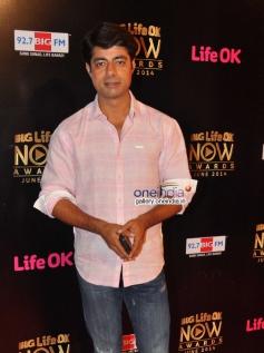 Sushant Singh at Life Ok Now Awards 2014