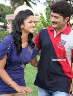 Linto and Ravishankar Gowda in Ondu Chance Kodi