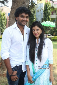 Rakshith Gowda at Love Track Movie Launch