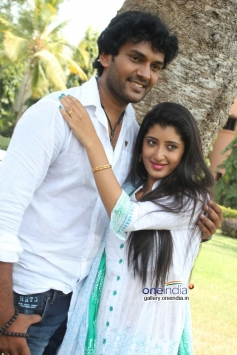 Actor Rakshith Gowda at Love Track Movie Launch