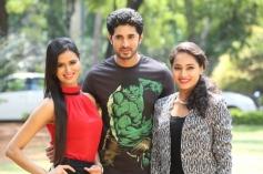 Meenakshi Dixit and Pooja at Adavi Kachina Vennela Audio Launch