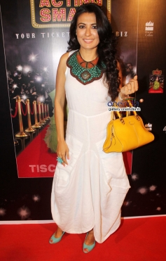 Mini Mathur at Tisca Chopra's Book Acting Smart success party
