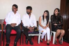 Nagshekar, Roopashree, Rakistha at Cigarette Movie Press Meet