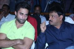 Navdeep and Ram Gopal Varma at Ice Cream Trailer Launch