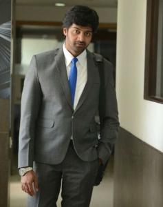 Naveen Chandra still from Sarabam Movie