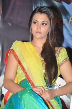 Nazia at Nee Jathaga Nenundali First Look Launch Photo