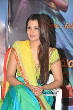 Nazia at Nee Jathaga Nenundali First Look Launch Pics