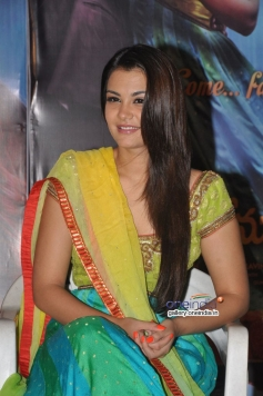 Nazia at Nee Jathaga Nenundali First Look Launch Picture