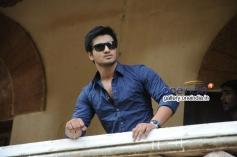 Nikhil pics from Karthikeyan Movie