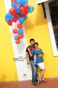 Nikhil and Swati Reddy stills from Karthikeyan Movie