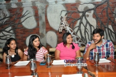 Oohalu Gusa Gusalaade Team with Radio Mirchi Winners