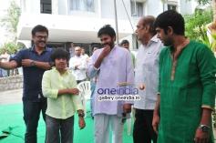 Pawan Kalyan & Venkatesh at Gopala Gopala Movie Launch