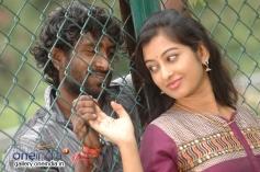 Pawan Surya and Tejaswini in Kannada Movie Goolihatti