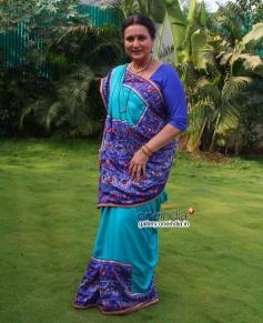 Poonam Dhillon on the sets of Sony TV 'Ekk Nayi Pehchaan'