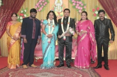 Producer V. Swaminathan's elder Son Wedding Reception