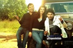 Radhika Apte and Ajmal Ameer in Vetri Selvan