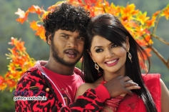 Rajesh and Kushi in Kannada Movie Love Is Poison