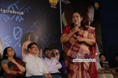 Suhasini Mani Ratnam and Sarath Babu at  Ramanujan Press Meet