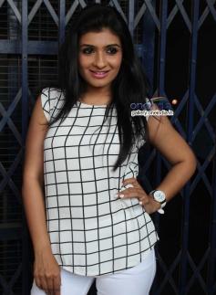 Roopashree at Cigarette Movie Press Meet