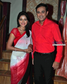 Rupali Bhosale, Sumeet Raghavan at Badi Door Se Aaye Hain on location shoot