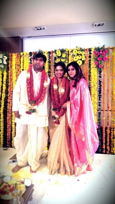 Samantha at Neeraja Kona's wedding