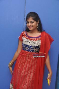 Sangeetha Reddy in Red Salwar Kameez
