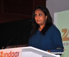 Shailja Kejriwal at Zee group launched new Television channel Zindagi