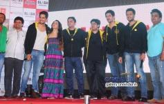 Sidharth Malhotra, Shraddha Kapoor, Mohit Suri, Riteish Deshmukhat at 'Ek Villian' music concert