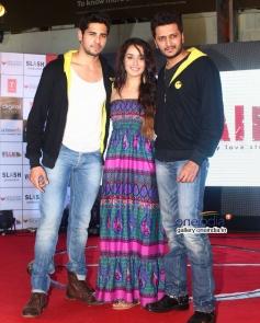 Sidharth Malhotra, Shraddha Kapoor, Riteish Deshmukh at 'Ek Villian' music concert