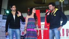 Sidharth Malhotra, Shraddha Kapoor and Riteish Deshmukh at 'Ek Villian' music concert
