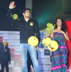 Sidharth Malhotra and Shraddha Kapoor at 'Ek Villian' music concert