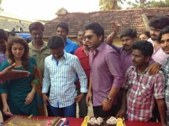 Simbu & Nayantara Celebrates Pandiraj's Birthday