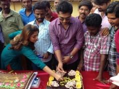 Simbu and Nayantara Celebrates Pandiraj's Birthday