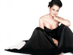 Kangana Ranaut in Black Dress