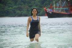 Shraddha Das in Black Dress