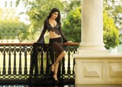 Shriya Saran in Black Dress