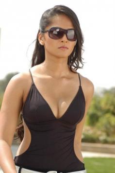 Anushka Shetty in Black Dress