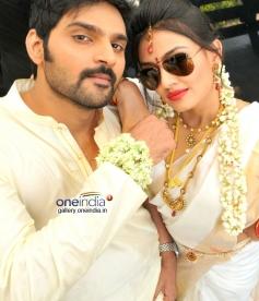 Sree Vishnu and Nikita Narayana in Nala Damayanti Movie