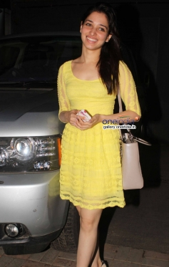 Tamannaah Bhatia promoting Humshakals Movie