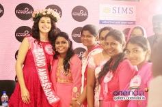 Tapasee Pannu - Brand Ambassador of Chennai Turns Pink