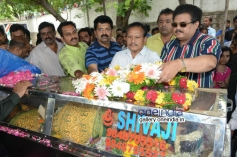 Telangana Sakuntala body at Telugu film Chamber