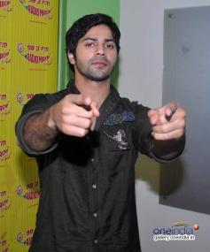 Varun Dhawan at Promotion of Humpty Sharma Ki Dulhania at Radio Mirchi