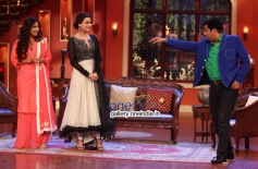 Vidya Balan, Dia Mirza at Bobby Jasoos Promotion on the sets of Comedy Nights with Kapil