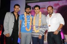 Vinay Rajkumar, Raghavendra Rajkumar at Aryan Movie Audio Release